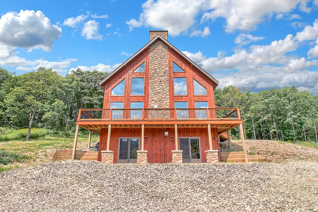 Custom Built Ski Chalet By Pat Burke - Burke Contracting, LLC