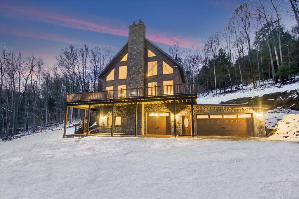 Custom Built Ski Chalet Built by Pat Burke - Burke Contracting, LLC